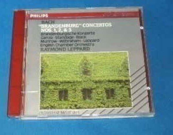 Bach 'brandenburg' Konzerte Nos 1