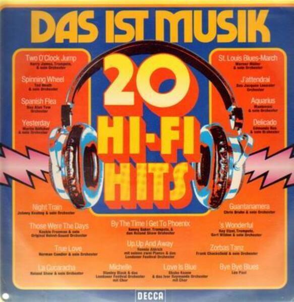 VARIOUS - Das ist Musik - 20 Hi-Fi-Hits - 33T