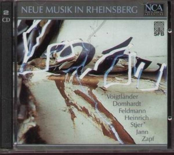 VARIOUS ARTISTS - Neue Musik in Rheinsberg - CD x 2