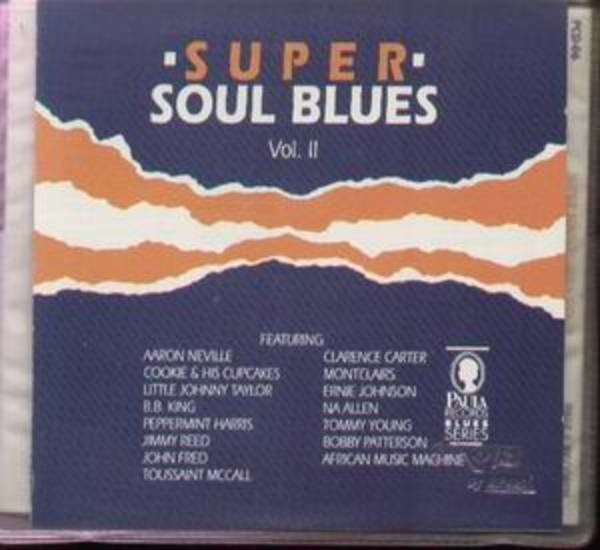 VARIOUS ARTISTS - Super Soul Blues Vol. II - CD