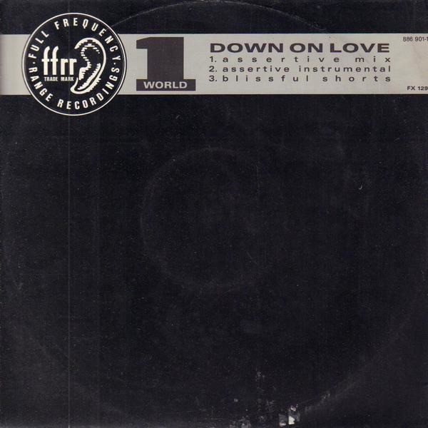 1 WORLD - Down On Love - Maxi x 1