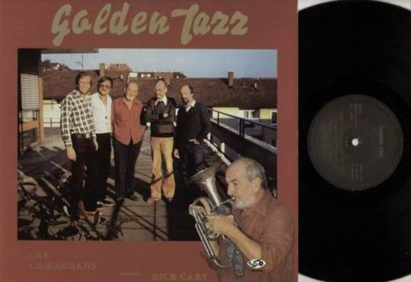 THE CHICAGOANS FEATURING DICK CLEARY - Golden Jazz - LP