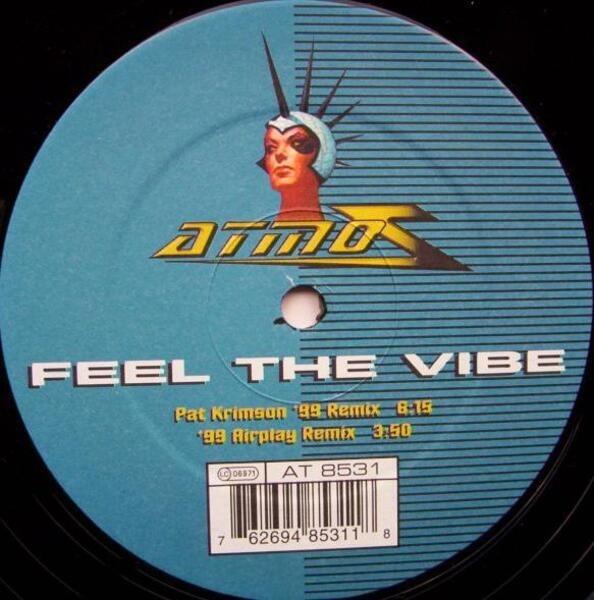 2 FABIOLA - Feel The Vibe - Maxi x 1