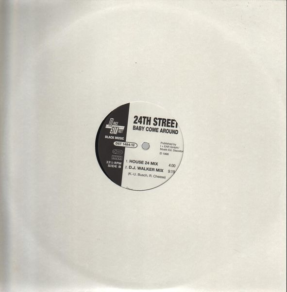 24TH STREET - Baby Come Around - 12 inch x 1