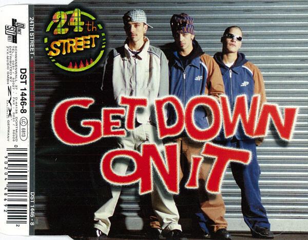 24TH STREET - Get Down On It - CD single