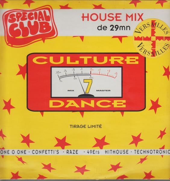 49ERS / HIT HOUSE / A.O. - Culture Dance  Volume 7 (Special Club) - Maxi x 1