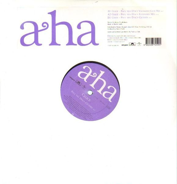 a-ha Celice (Paul Van Dyk Mixes)