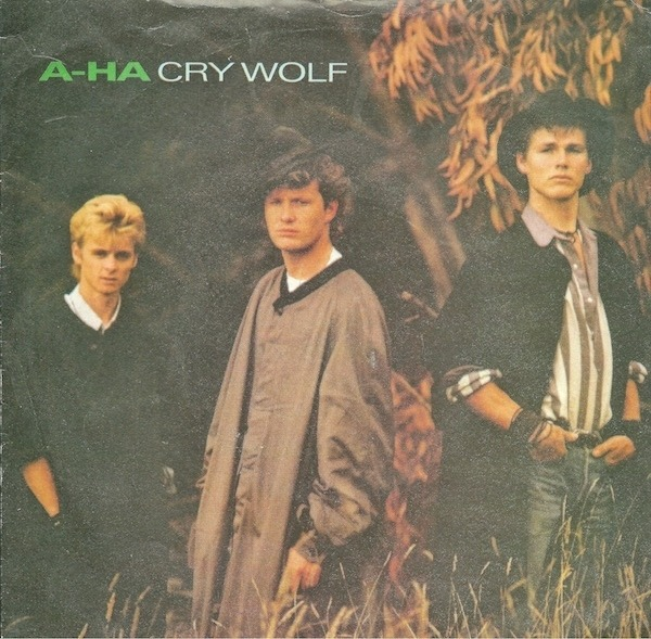 a-ha Cry Wolf (SILVER INJECTION LABELS)