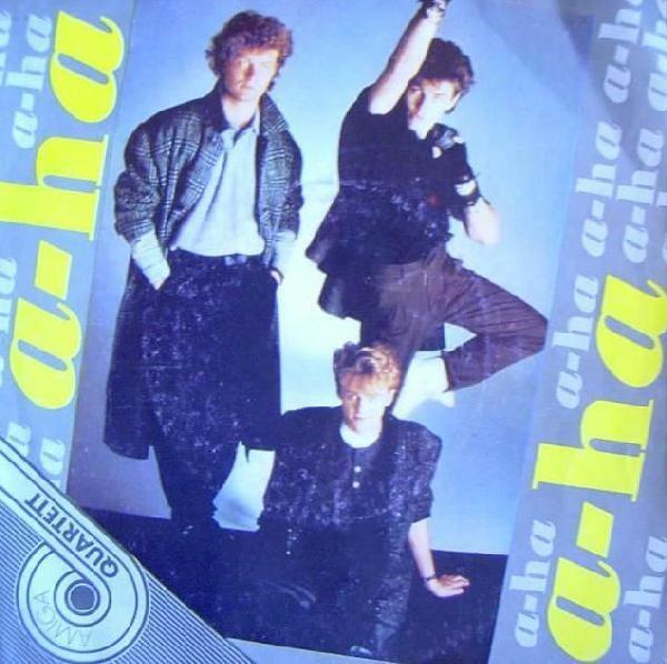 a-ha Amiga Quartett