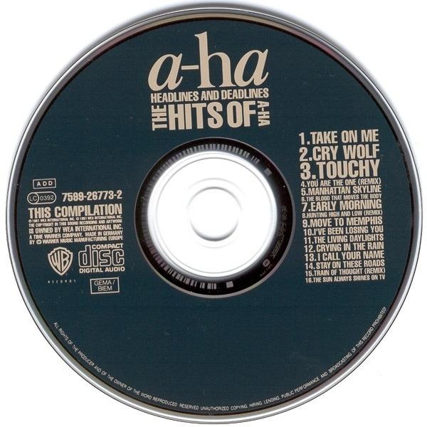 A-Ha Headlines and Deadlines - The Hits of A-ha
