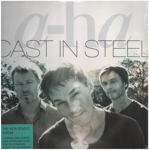 a-ha cast in steel