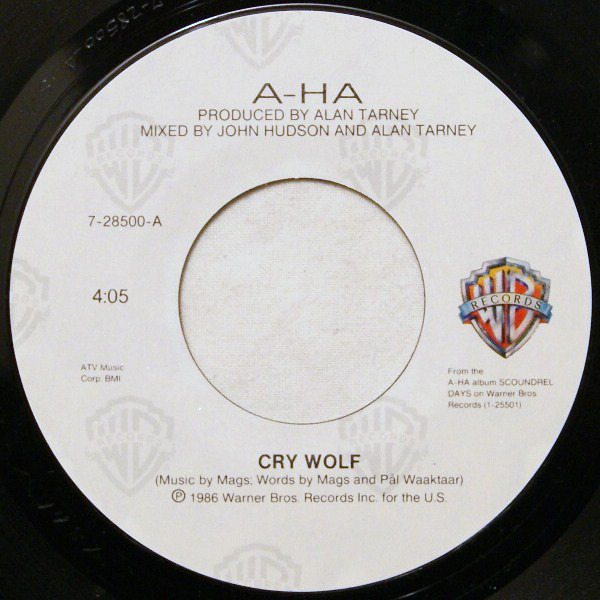 #<Artist:0x007fe3476a6df0> - Cry Wolf
