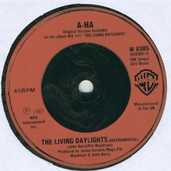 #<Artist:0x007f983dcf6ca0> - The Living Daylights