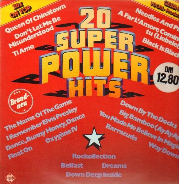 A. MONN, A. LEAR, D. SUMMER AND MANY MORE - 20 Super Power Hits - 33T
