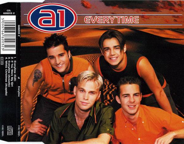 A1 - Everytime - CD single