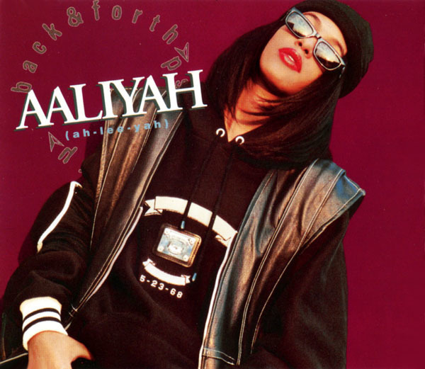 AALIYAH - Back & Forth - CD single