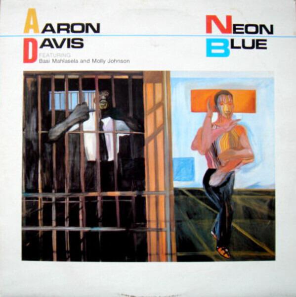 AARON DAVIS - Neon Blue - LP