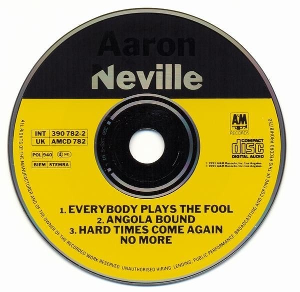 Aaron neville everybody plays the fool