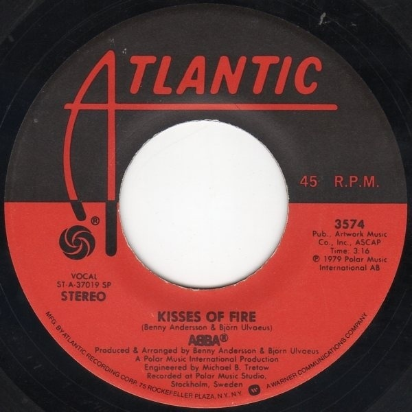 #<Artist:0x007f5144546fb8> - Does Your Mother Know / Kisses Of Fire