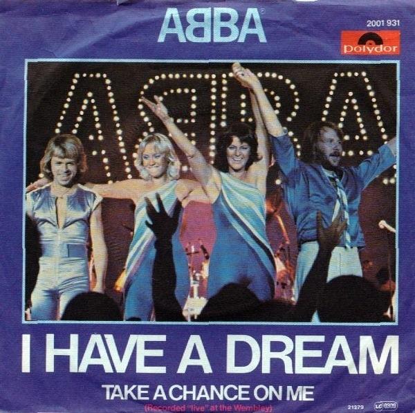 #<Artist:0x007f0b20499940> - I Have A Dream / Take A Chance On Me