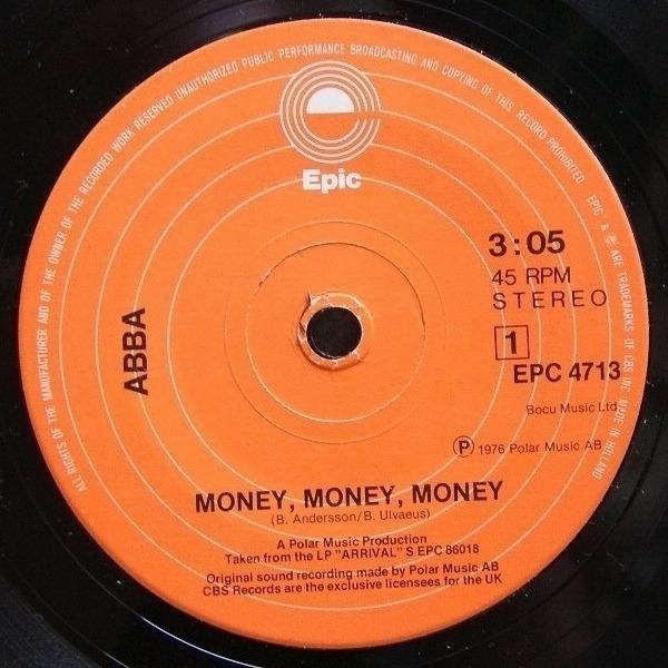 #<Artist:0x007f0b2b847f00> - Money, Money, Money