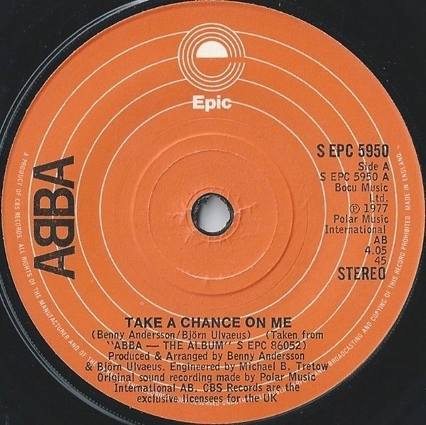 #<Artist:0x007f6410ebf7c8> - Take A Chance On Me