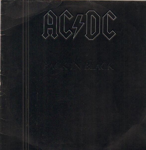Back In Black (embossed / Og German Pressing) - AC/DC