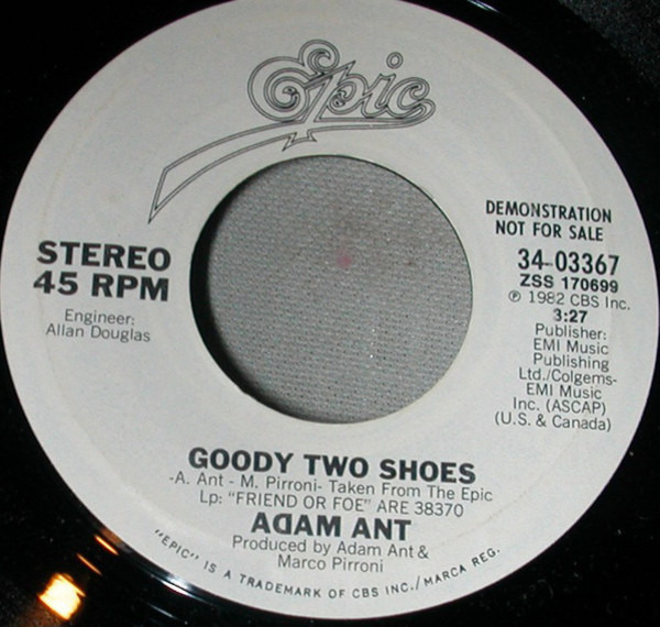 #<Artist:0x00007fd902012290> - Goody Two Shoes
