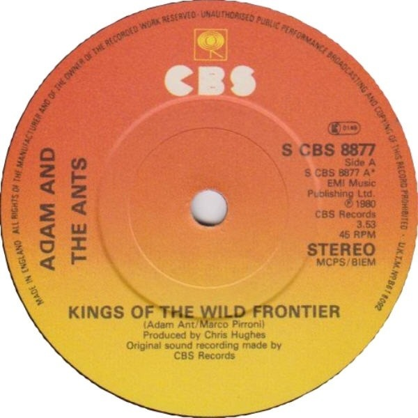 #<Artist:0x007fca40caf578> - Kings Of The Wild Frontier