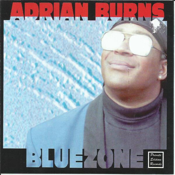 ADRIAN BYRON BURNS - Bluezone - CD single