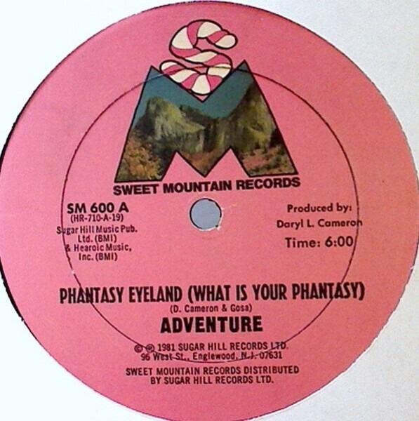 ADVENTURE - Phantasy Eyeland (What Is Your Phantasy) (STILL SEALED) - 12 inch x 1