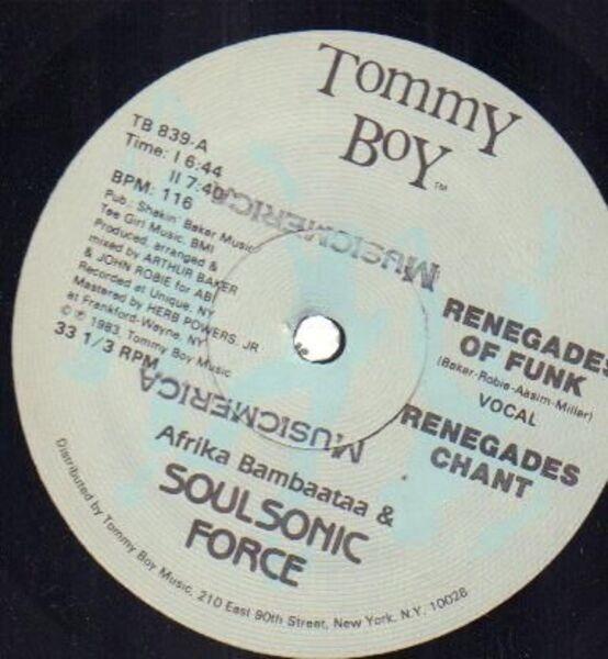 #<Artist:0x00007f387a3d7f48> - Renegades Of Funk