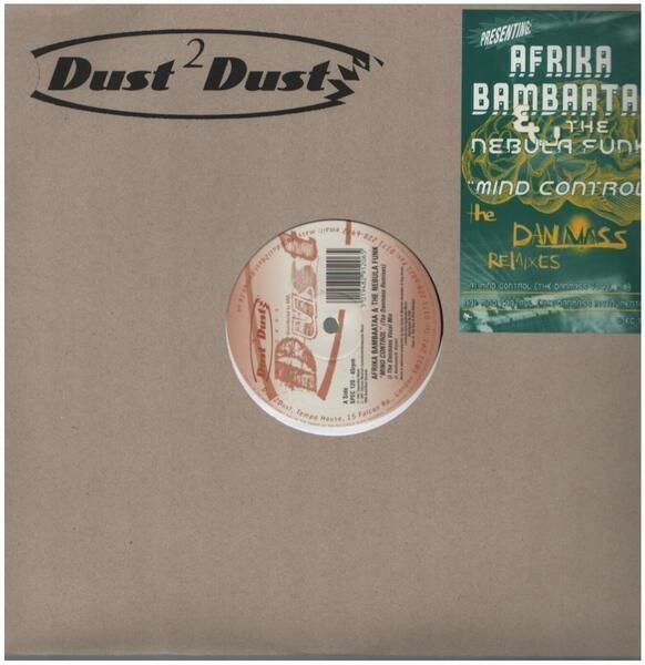 AFRIKA BAMBAATAA & THE NEBULA FUNK - Mind Control (The Danmass Remixes) - Maxi x 1
