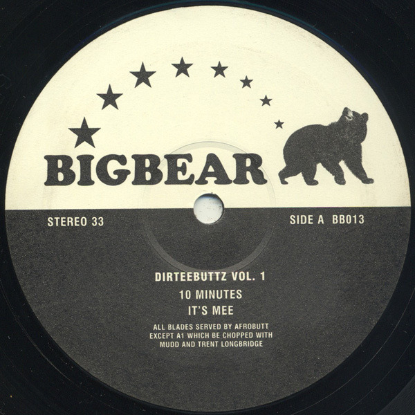 AFROBUTT - Dirteebuttz Vol. 1 - 12 inch x 1