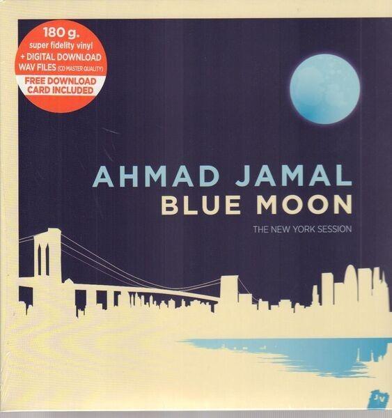 AHMAD JAMAL - Blue Moon - The New York Session (180G +DOWNLOAD) - LP x 2