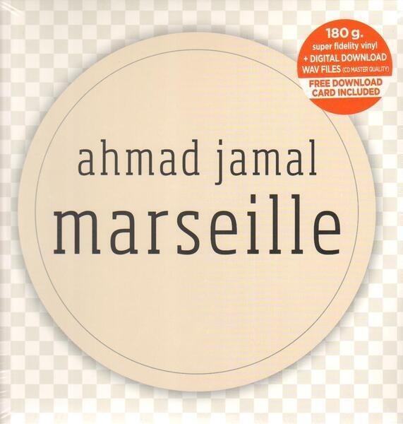 AHMAD JAMAL - Marseille (180G +DOWNLOAD) - LP x 4