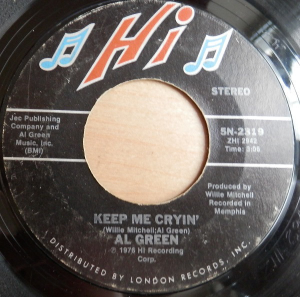 Al Green There Is Love / Keep Me Cryin'