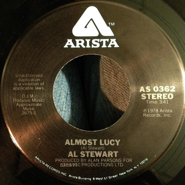 #<Artist:0x007f817e4eb040> - Time Passages / Almost Lucy