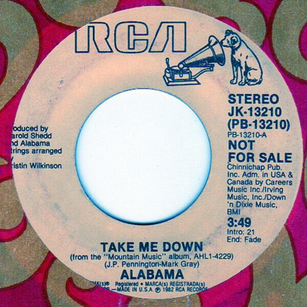#<Artist:0x007f41e32f7958> - Take Me Down