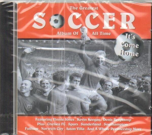 ALAN RANDALL / KEVIN KEEGAN A.O. - The G666629117026reatest Soccer Album of all time (STILL SEALED) - CD