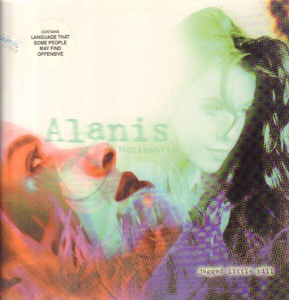 ALANIS MORISSETTE - JAGGED LITTLE PILL ALBUM LYRICS