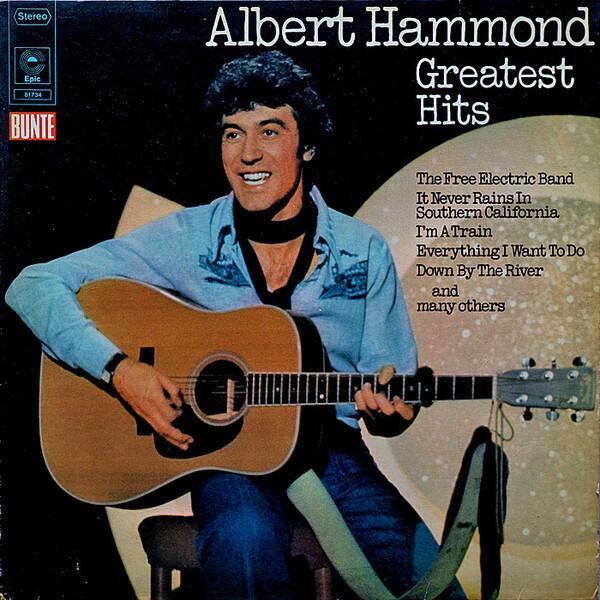 Albert Hammond Greatest Hits Vinyl Records Lp Cd On