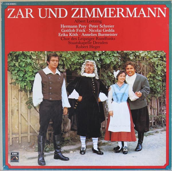 #<Artist:0x007f51a6940328> - Zar und Zimmermann