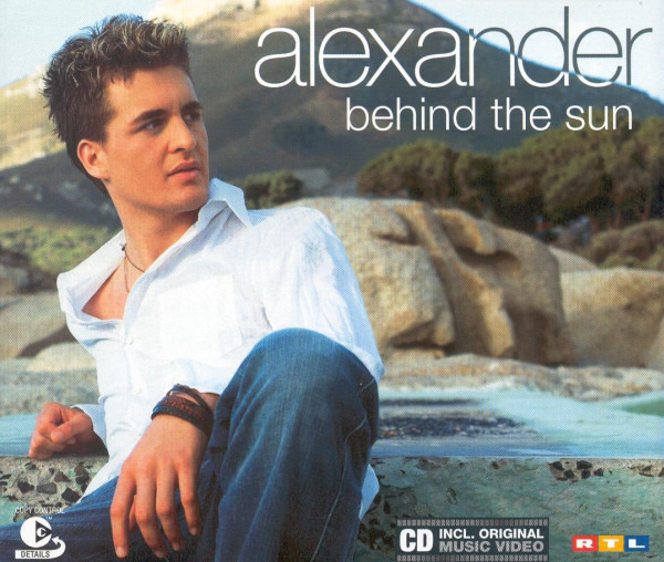 ALEXANDER KLAWS - Behind The Sun - CD single