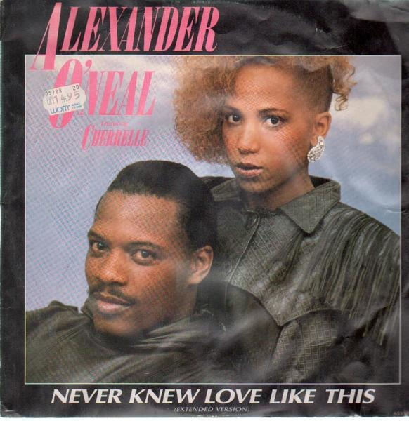 Alexander O'Neal Never Knew Love Like This