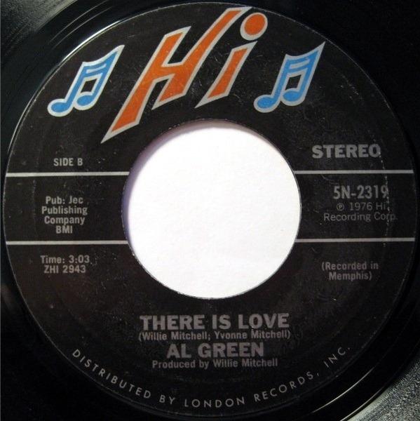 Al Green Keep Me Cryin' / There Is Love
