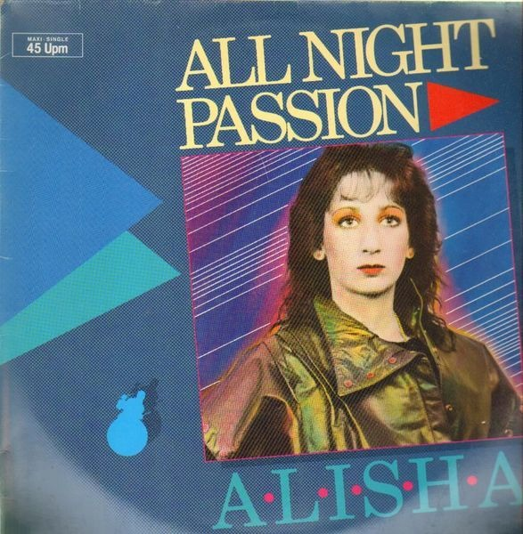 ALISHA - All Night Passion - 12 inch x 1