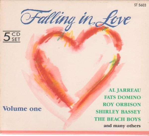 AL JARREAU, JUDY GARLAND, GENE PITNEY, THE PLATTER - Falling in love - CD x 5