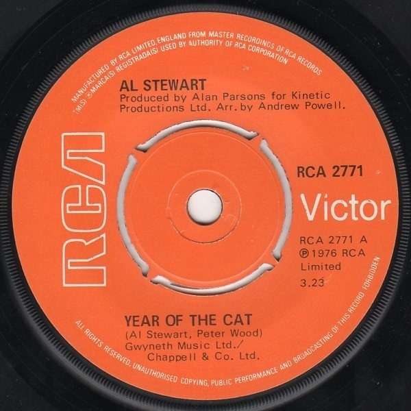#<Artist:0x007f5194d933d8> - Year Of The Cat / Broadway Hotel