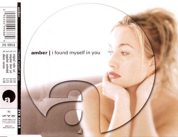 AMBER - I Found Myself In You - CD single
